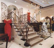 Mueller Ornamental Iron WorksManufacturer of railings stairs