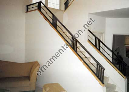 stair railings outdoor iron stairs pictures ottawa steel bronze balls wall