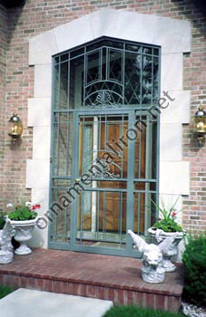 Mueller Ornamental Iron S Custom Hand Forged Main Entry